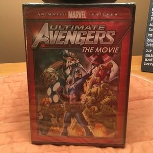 Marvel Ultimate Avengers The Movie. DVD